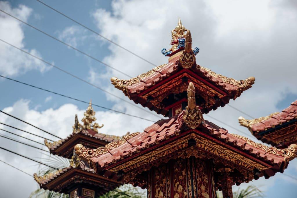 Pagoda in Bali