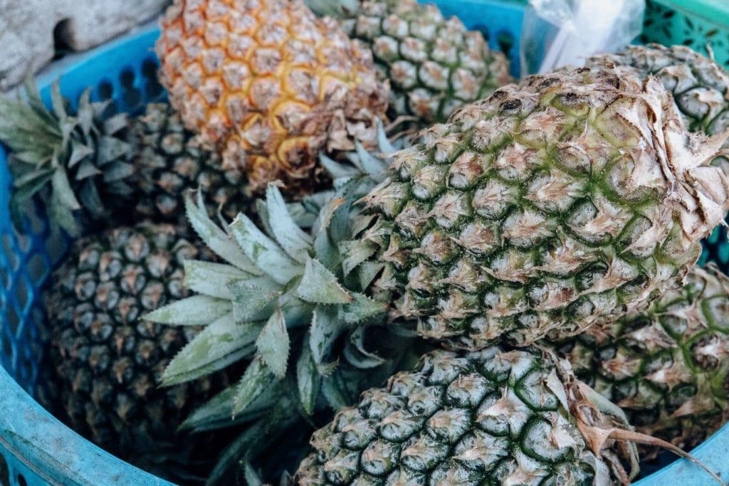 Bali-pineapples