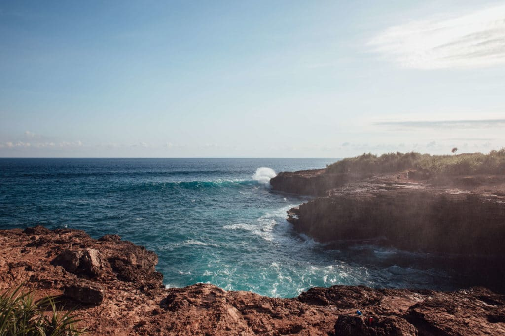 Rough-ish sea in Bali