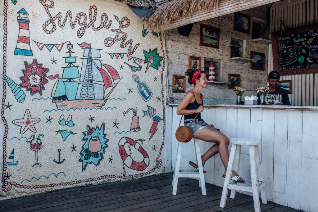 Travel photography Bali - Padang Padang Beach - Single Fin bar