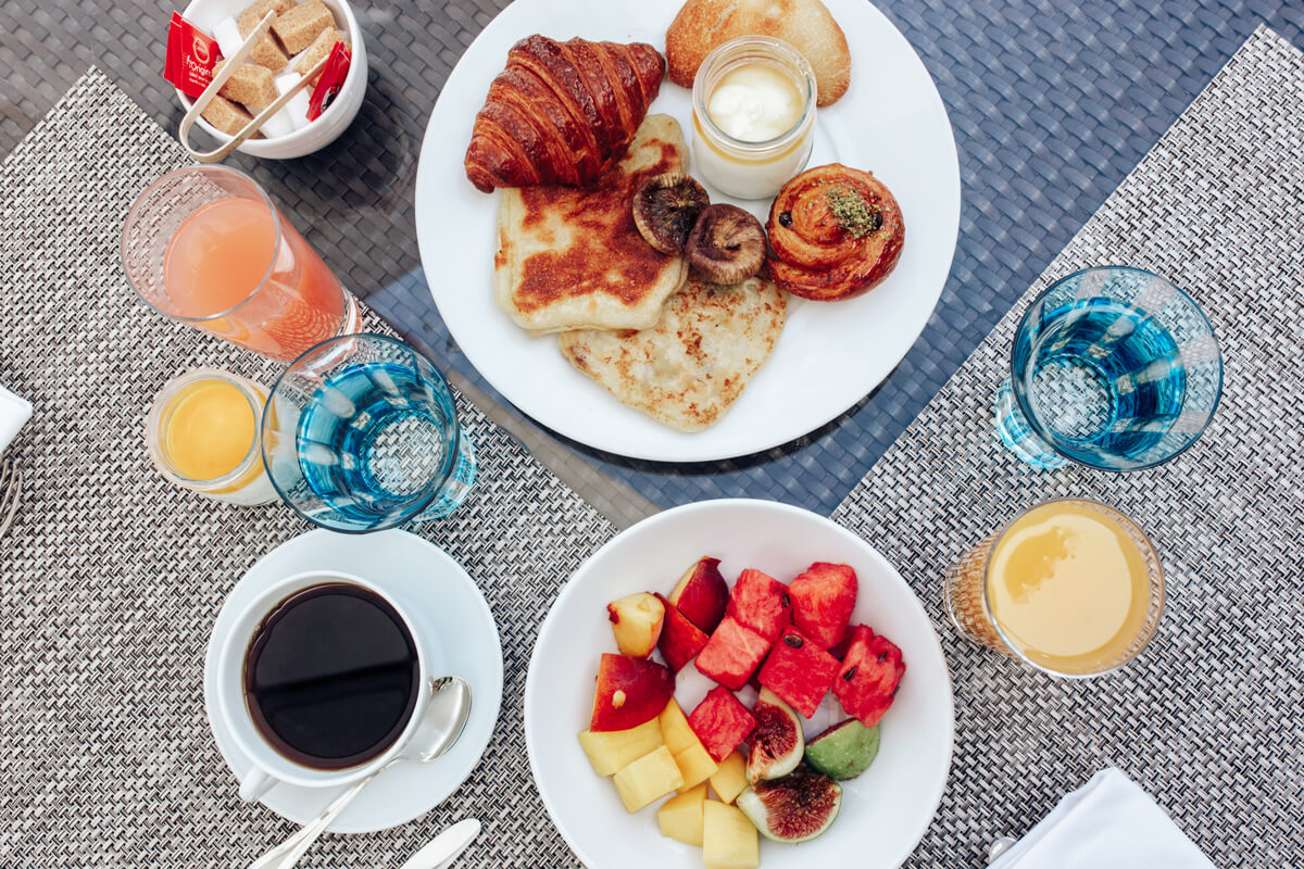 Best places to eat in Marrakech - La Mamounia - Breakfast
