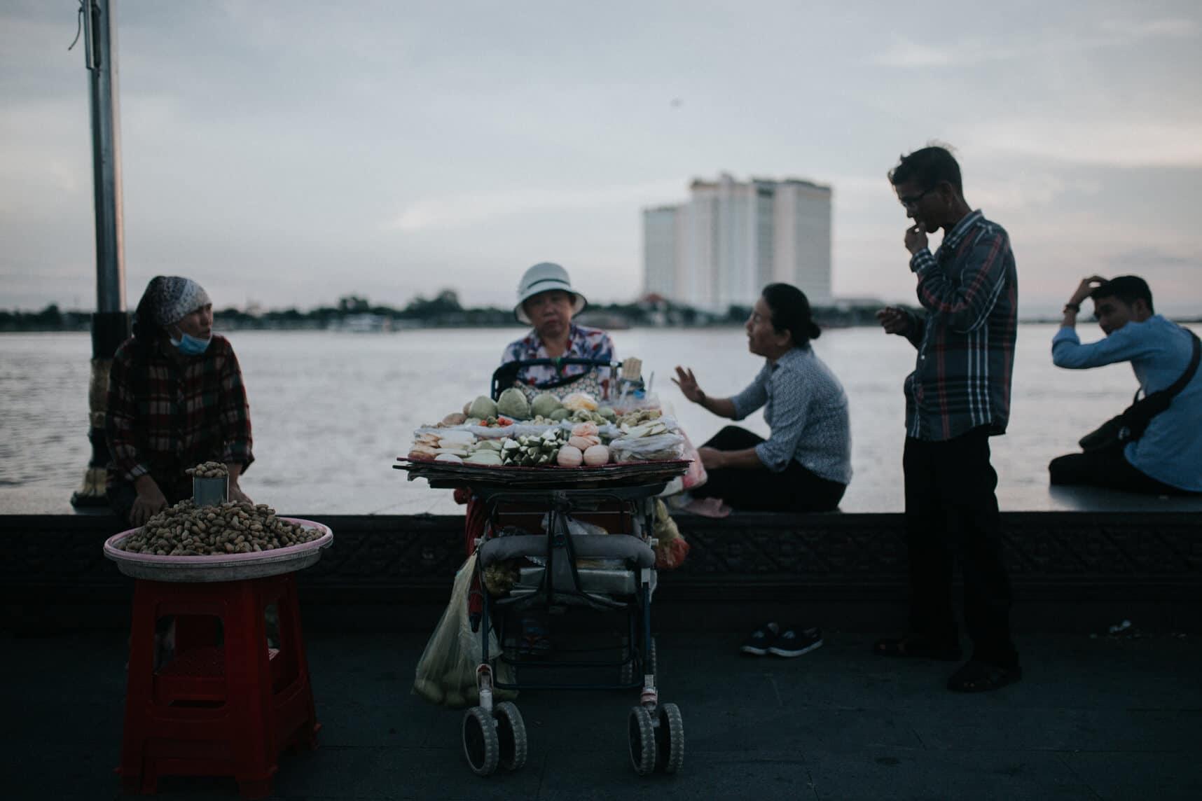 Cambodia photography - Phnom Penh's riverside