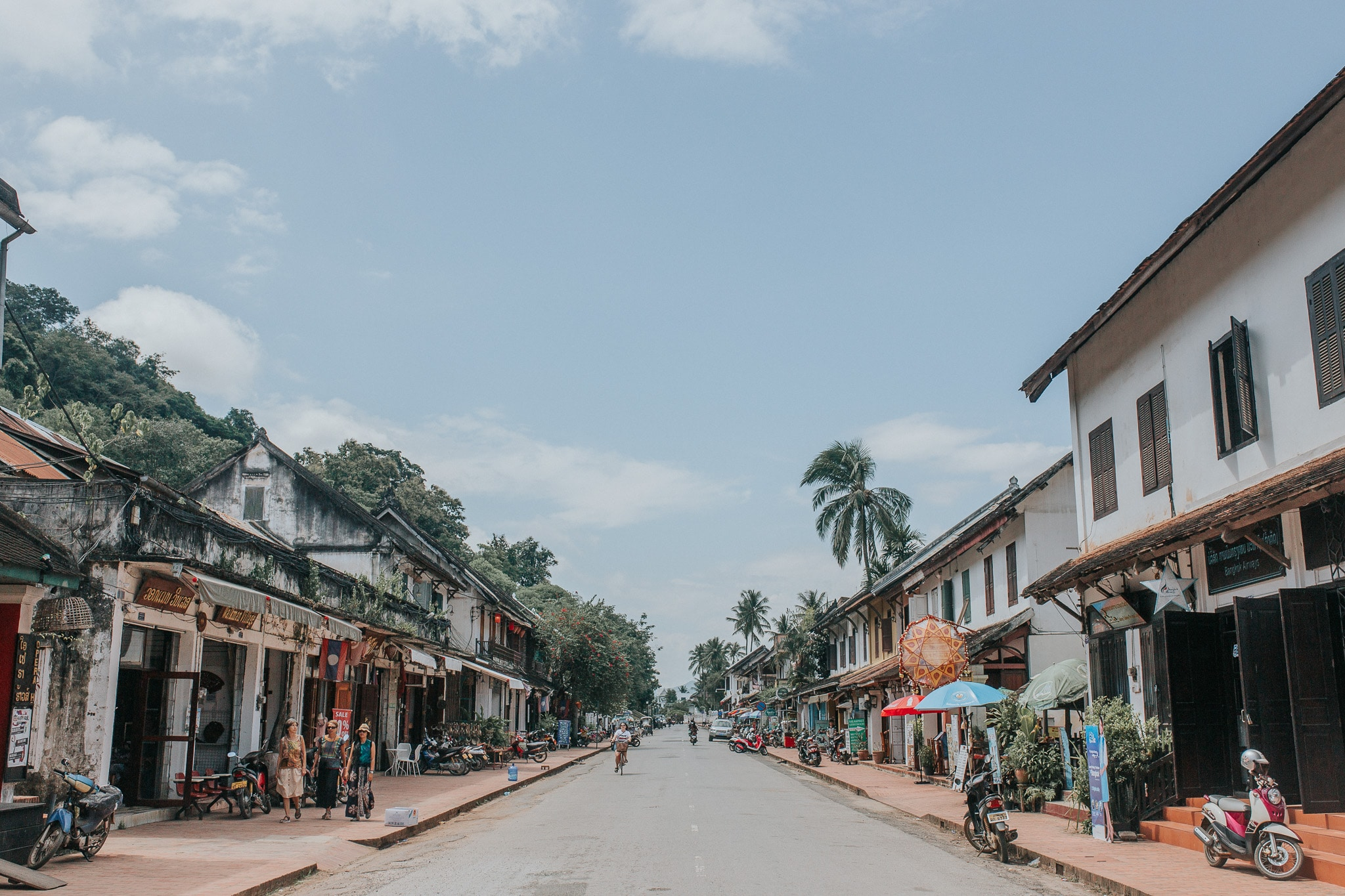 One week in Laos - Luang Prabang - High Street