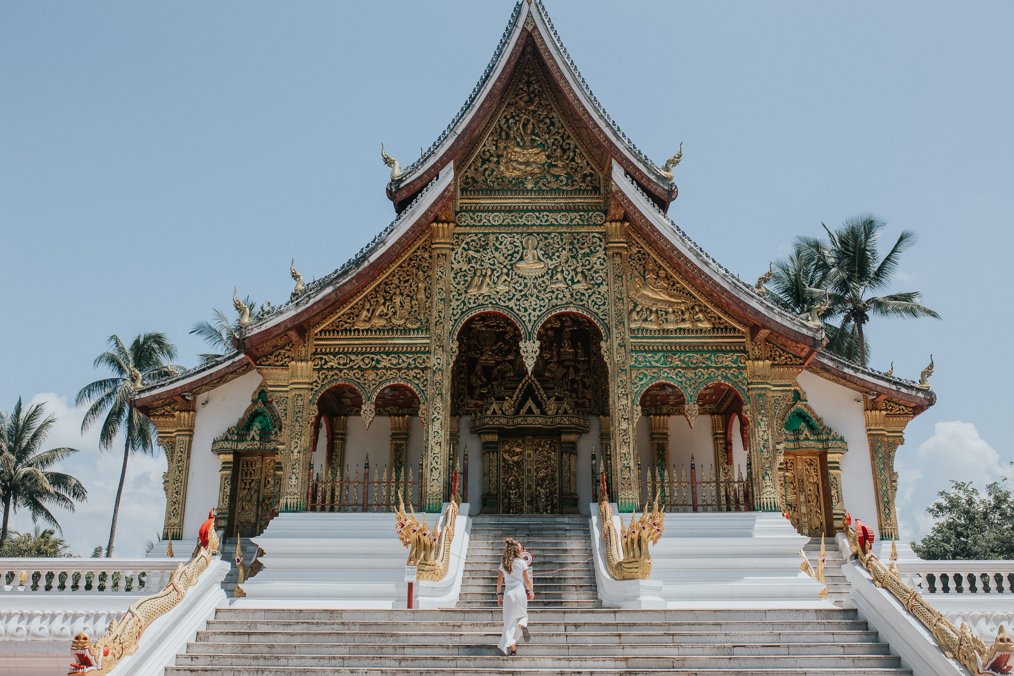 One week in Laos - Luang Prabang National Museum - The Haw Pha Bang