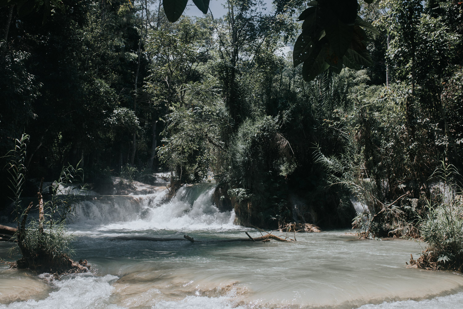 One week in Laos - Luang Prabang - Kuang Si Falls