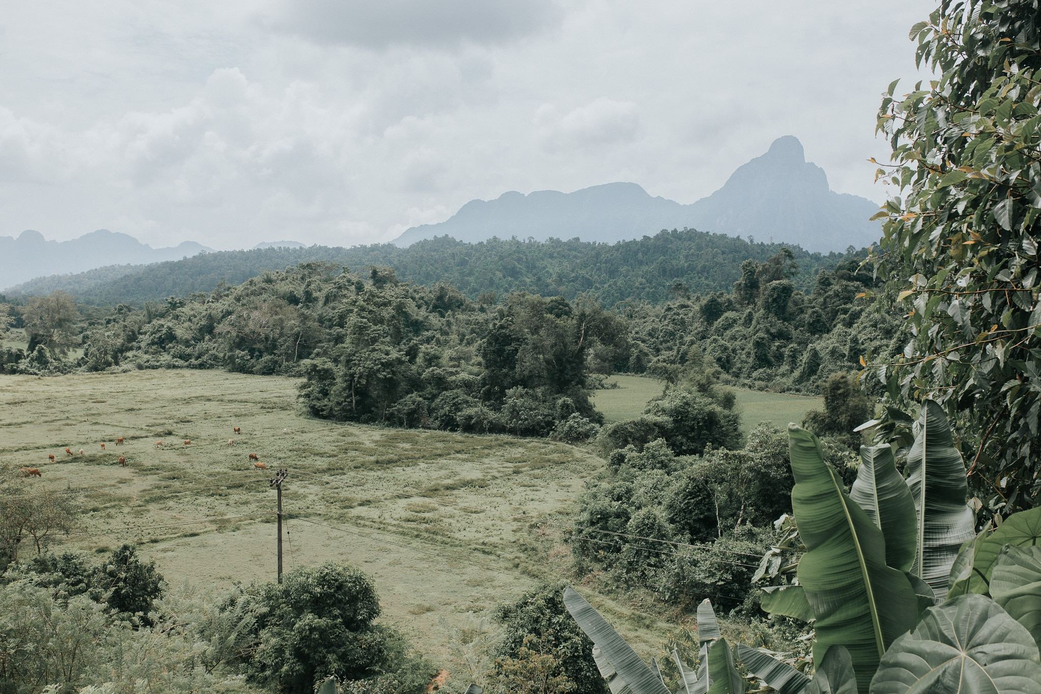 On week in Laos - Vang Vieng - Climbing Nam Xai viewpoint