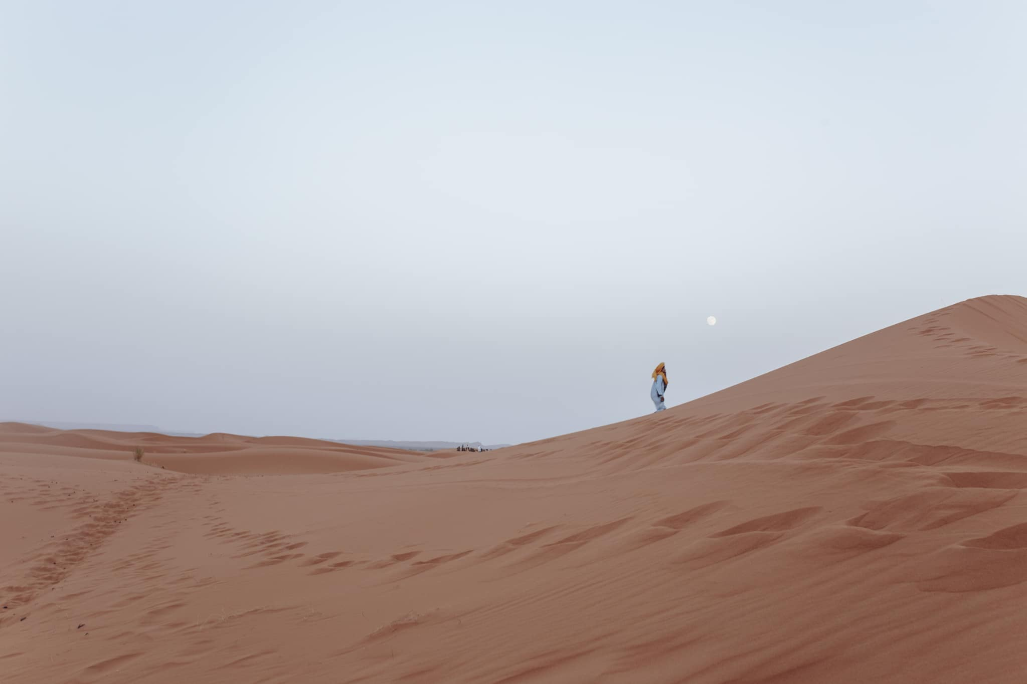 Erg Chebbi dunes near Merzouga